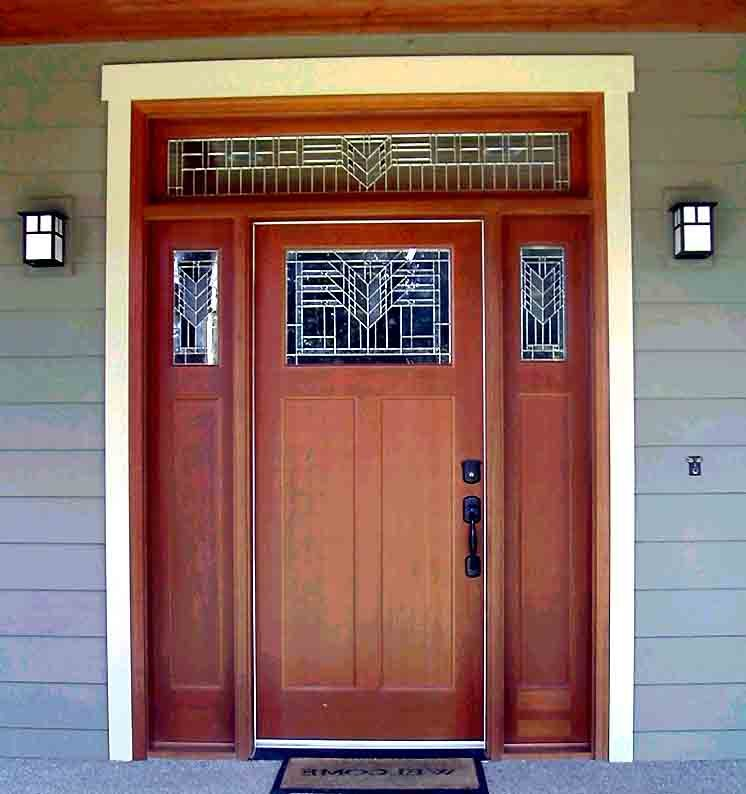 Binaların dış kapıları üzerinde hangi geometrik şekiller vardır