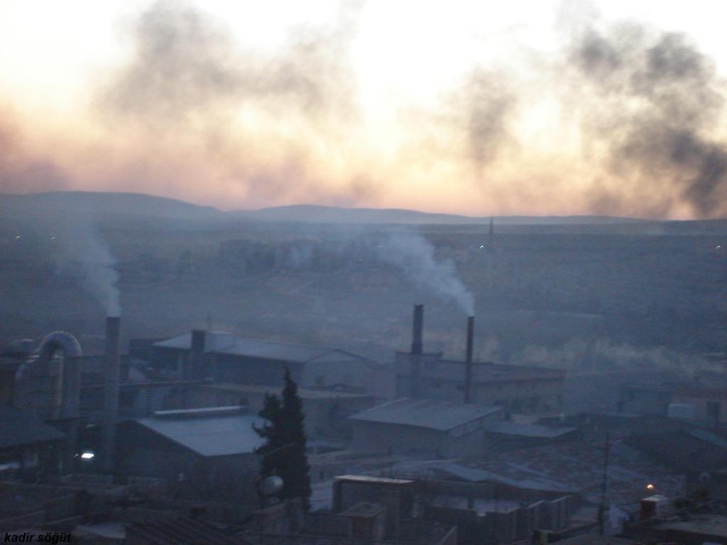 Hava Kirliliğinin Kaynakları