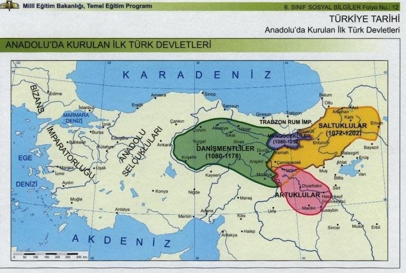 Anadoluda Kurulan İlk Türk Devletleri