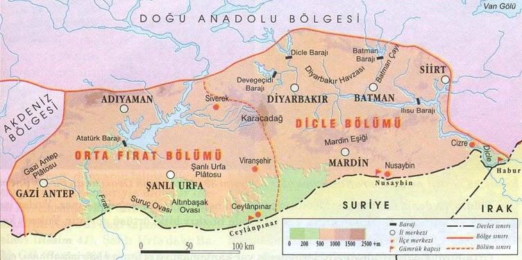 Türkiyenin En Yayvan Dağı Karacadağ