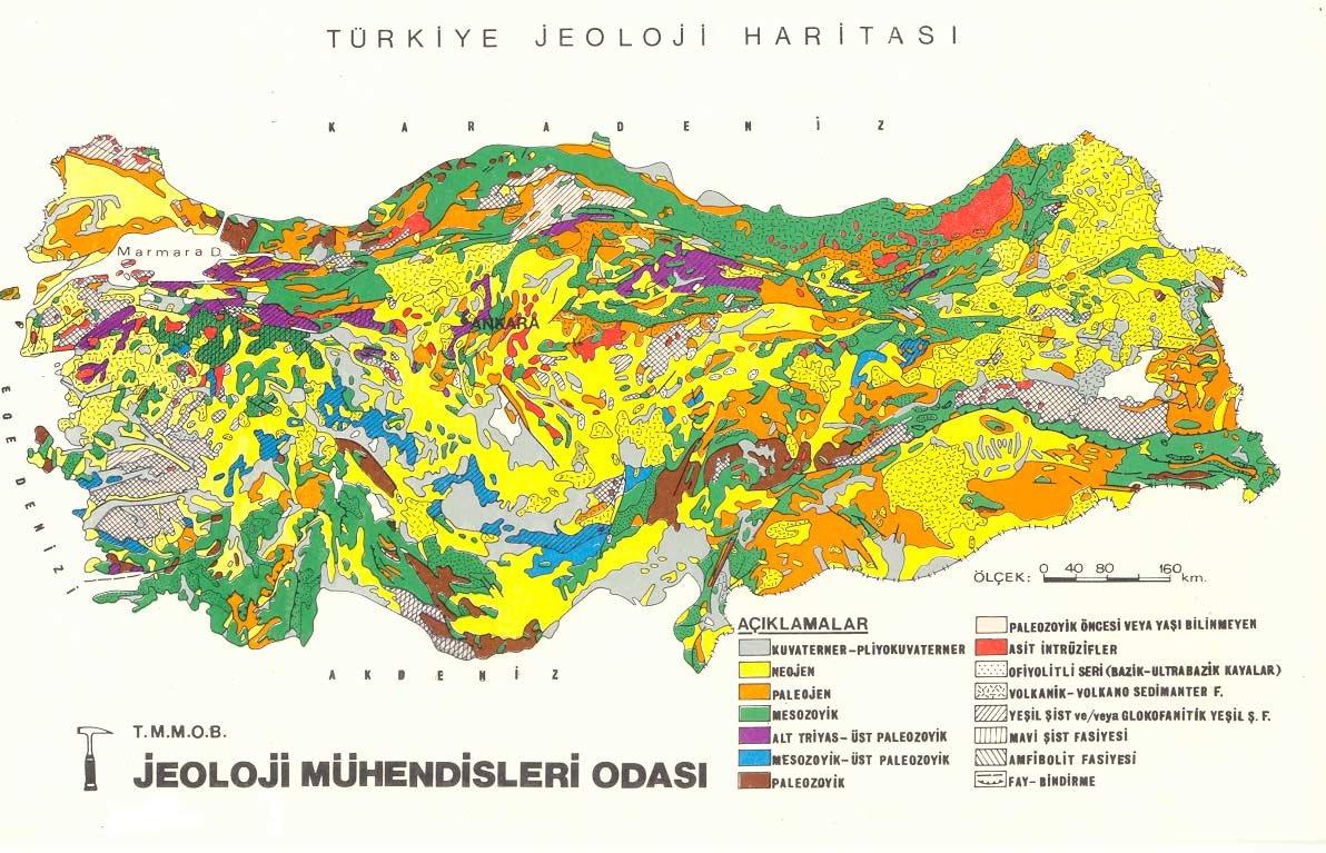 Jeolojik Harita Nedir