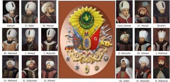 Sırasıyla Osmanlı Padişahları Listesi (Kronolojik)
