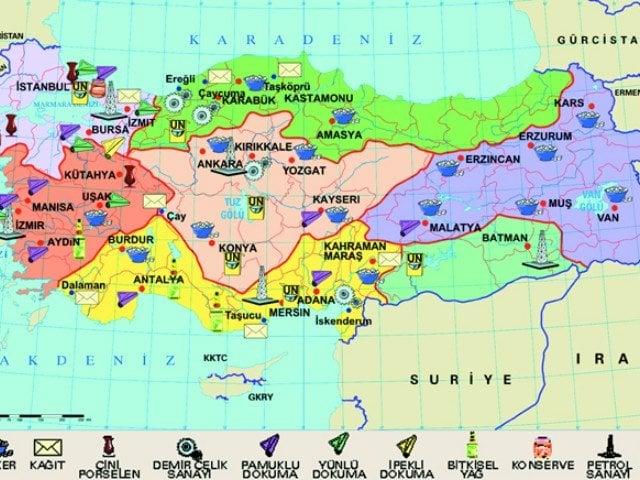 Karadeniz Bölgesinde Sanayi